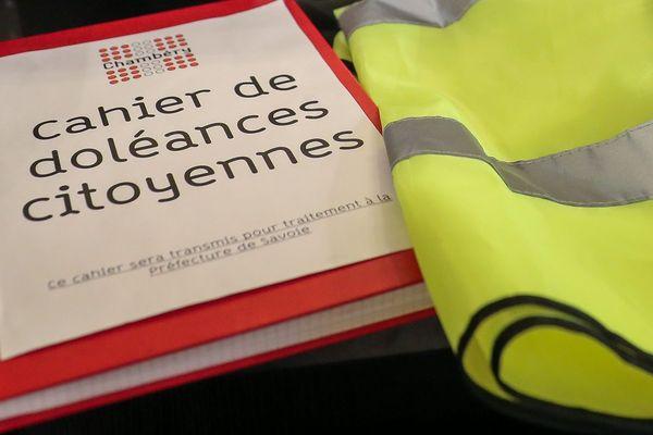 Un cahier de doléance à la mairie de Chambéry. (Photo d'illustration)