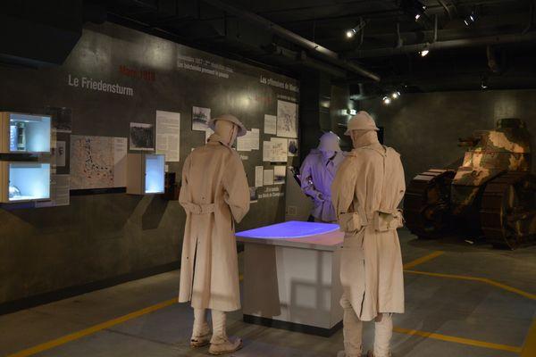 Le centre d'interprétation historique de Suippes est passé à la visite virtuelle.