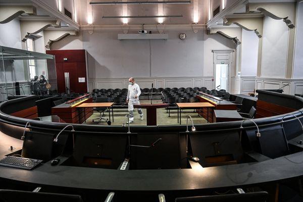 La cour d'assises du palais de justice de Chambéry où Nordahl Lelandais sera jugé à partir du 3 mai 2021 pour le meurtre d'Arthur Noyer.