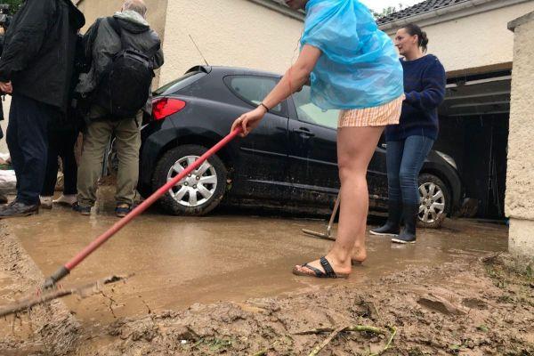 De nombreux habitants du Beauvaisis ont été inondés après les fortes pluies de la nuit du 21 au 22 juin.