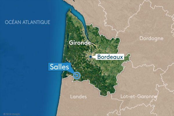 """Un accident mortel est survenu ce vendredi 2 octobre à Salles en Gironde, sur l""""autoroute A63."""