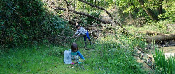 l'association Ekölo organise des vacances au contact de la nature