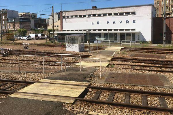 Le poste d'aiguillage de la gare du Havre