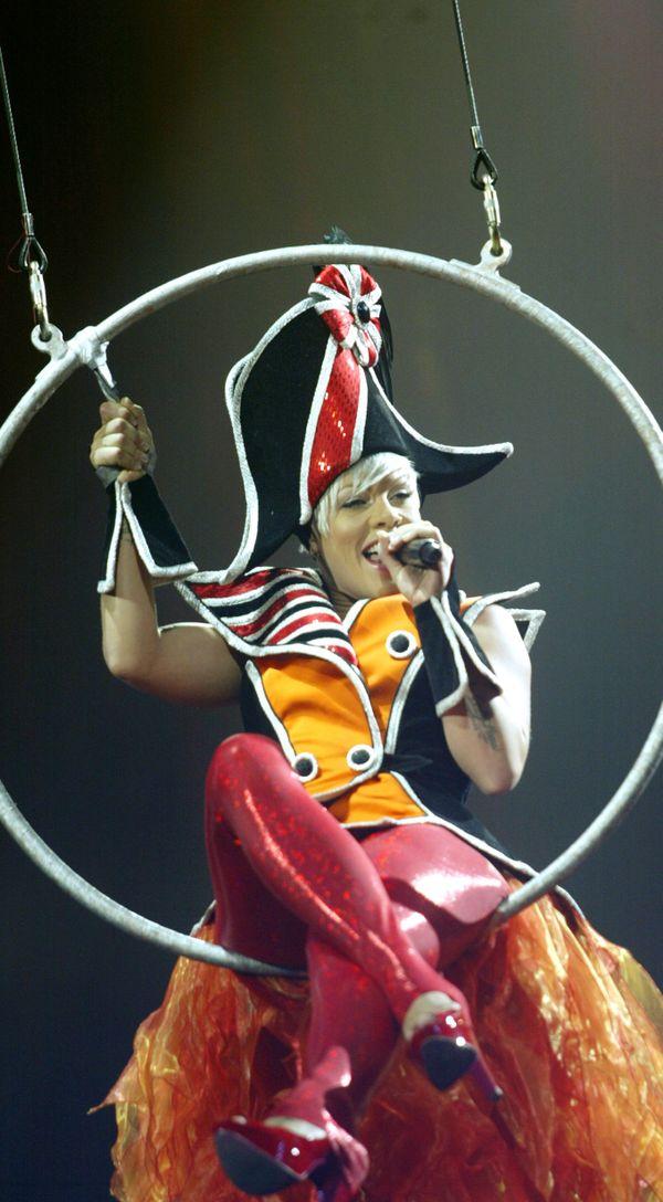 Pink en concert au Nikaïa en 2009.