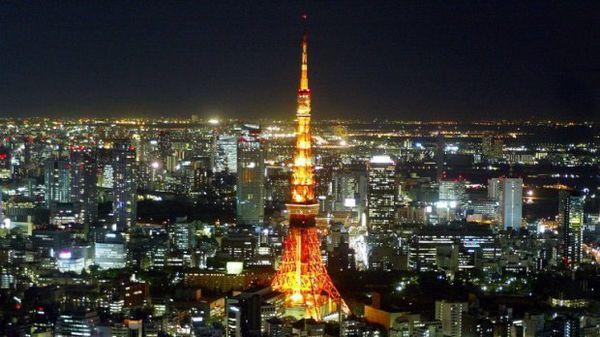 La Tour de Tokyo, inspirée de la Tour Eiffel