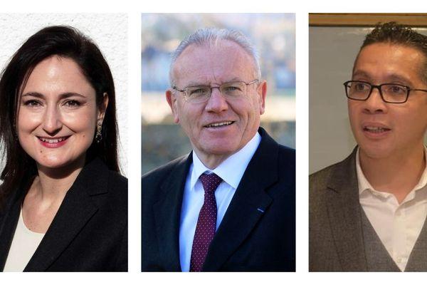 Trois candidats pour la mairie de Gien.