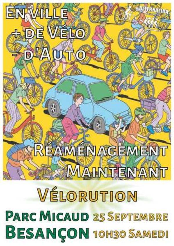 """Affiche de l'événement """"Vélorution"""""""