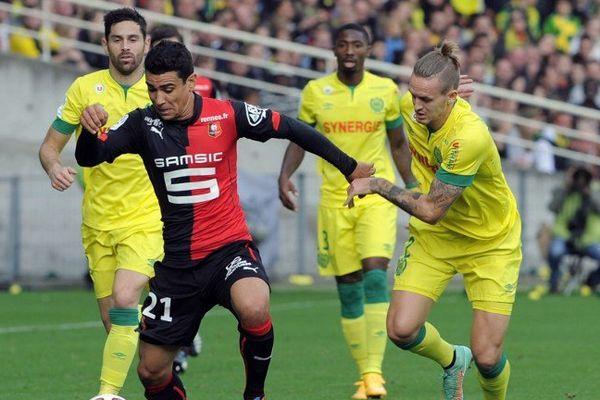 Le duel était équilibré entre Nantes et Rennes.