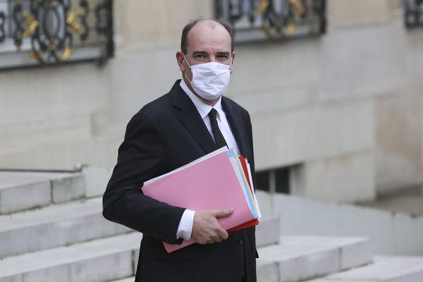 Jean Castex premier ministre à la sortie du conseil des ministres le 16 décembre 2020