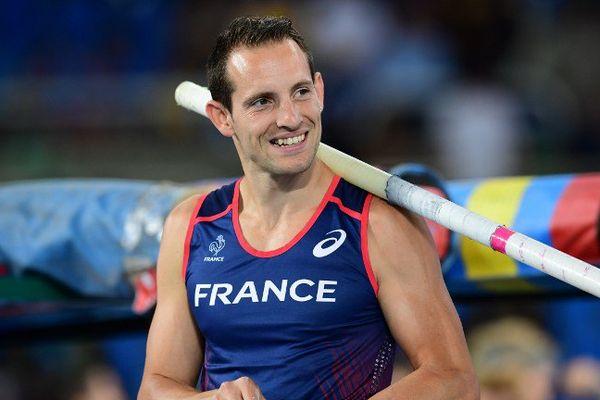 Renaud Lavillenie aux Jeux Olympiques de Rio