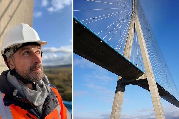Vincent Chatelain et le Pont de Normandie