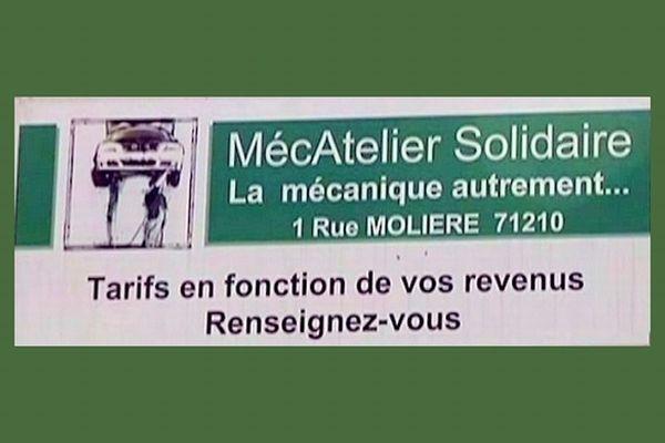 Le garage MécAtelier solidaire à Montchanin, en Saône-et-Loire, facture ses clients en fonction de leurs revenus