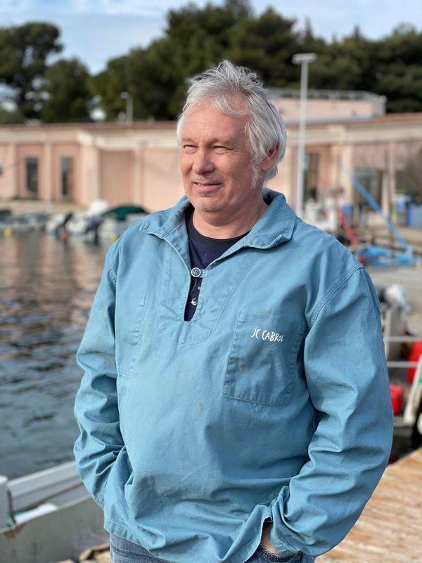Jean-Christophe Cabrol conchyliculteur sur le bassin de Thau