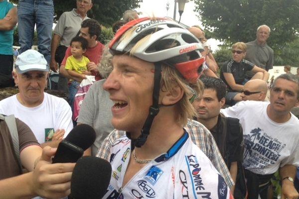 Evaldas Siskevicius vainqueur de la 2ème étape du Tour du Limousin