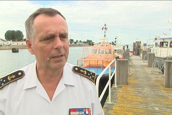 Pascal Ausseur, le préfet maritime Manche Mer du Nord