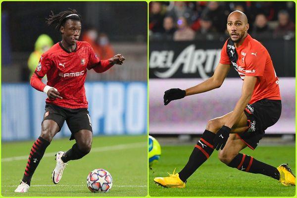 Les deux internationaux français du Stade Rennais, Eduardo Camavinga et Steven Nzonzi ne pourront pas disputer le match face à Séville