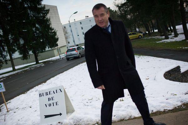 Le député du Doubs Frédéric Barbier