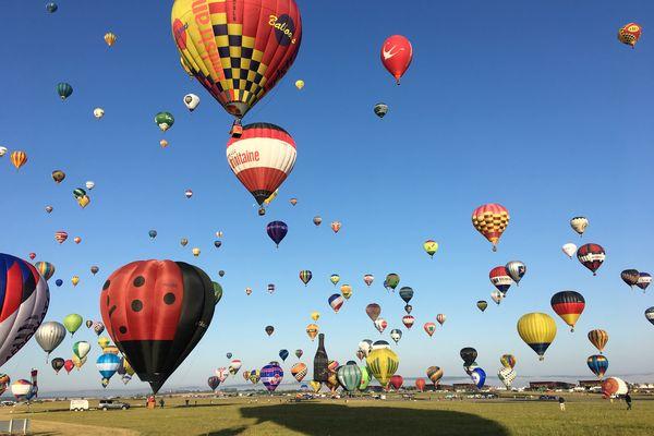 L'édition 2021 du Grand Est Mondial Air Ballons va se tenir dans un contexte sanitaire particulier.