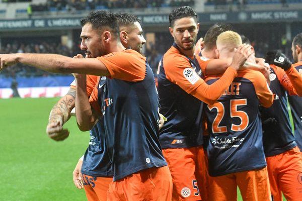 Les joueurs de Montpellier en route vers la Coupe de France