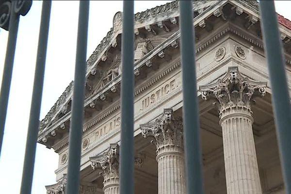 Le palais de justice de Perpignan