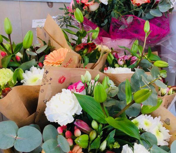 Les bouquets de Raphaëlle Vacherot pour la fête des mères.