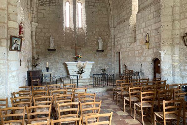 Les messes seront à nouveau célébrées dans cette petite église qui peut accueillir 73 personnes.