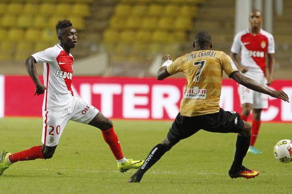 Monaco le 24/09/2016 - Championnat de France de Football - Ligue 1 - 7eme journee - L AS Monaco FC recoit le SCO Angers - Le milieu de terrain Monegasque Adama TRAORE N20.