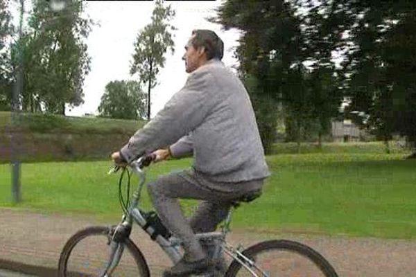 Vicent Vaillant s'est converti au cyclisme grâce à l'indemnité kilométrique au vélo.