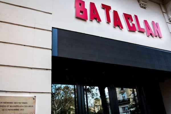 Le Bataclan à Paris.