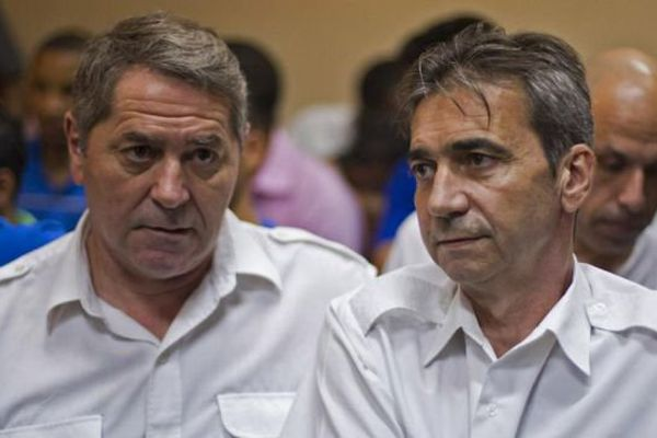 Pascal Fauret et Bruno Odos