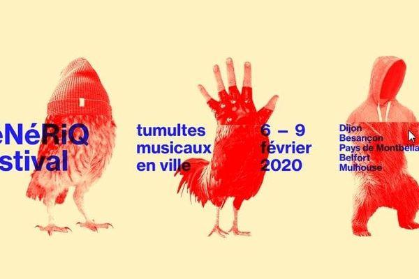 L'affiche du Festival GéNéRiQ 2020