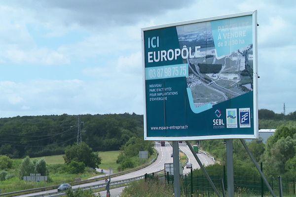 Le site Europôle d'Hambach (Moselle).