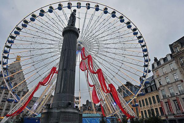 La Grande roue place du Général de Gaulle à Lille
