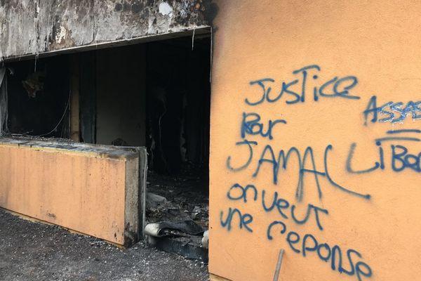 Un homicide commis à Saint-Vallier a entraîné l'incendie du centre social de Montceau-les-Mines mardi 9 octobre 2018.