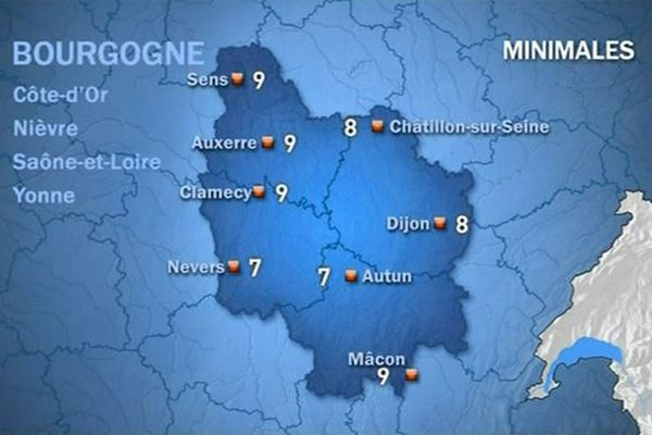 Les prévisions de Météo France vendredi 23 octobre matin