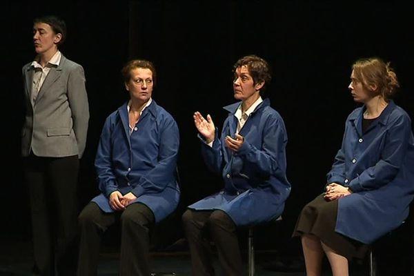 """La pièce """"Un cœur Moulinex"""" de Simon Grangeat a été jouée ce mardi soir au Quai des Arts à Argentan."""