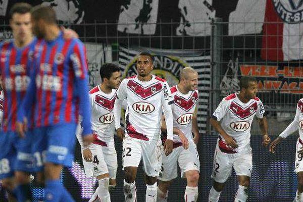 Les Girondins prennent trois points à Caen