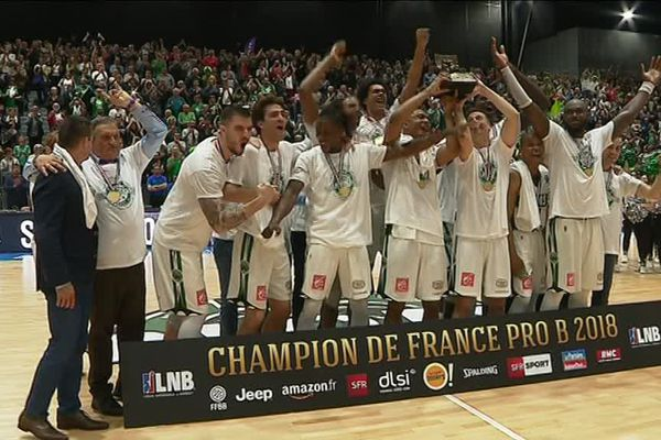 Champion de France de Pro B, l' ADA Blois doit obtenir l'agrément de son centre de formation pour accéder à la Jeep Elite.