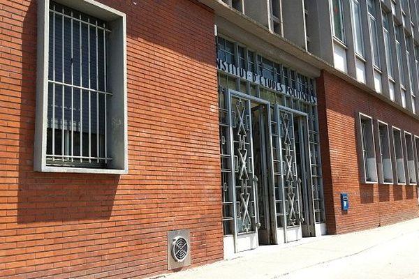 Les actuels locaux de l'IEP, rue des Puits Creusés à Toulouse.