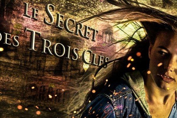 L'actrice Justine Thibaudat à l'affiche du roman-photo le Secret des Trois Clés