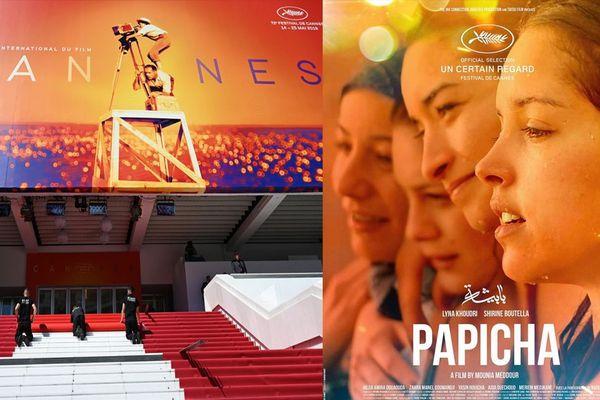 """Le cherbourgeois Patrick André produit le film """"Papicha"""" présenté dans la section un certain regard à Cannes - mai 2019"""