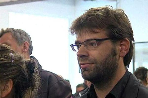 Rudy L'Orphelin maire adjoint, tête de liste EE-LV à Caen