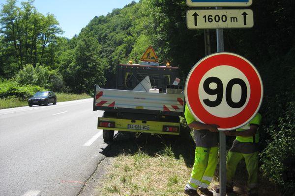 La Haute-Vienne envisage un retour aux 90 km/h
