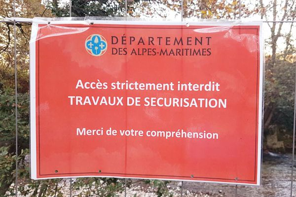 Le parc départemental est fermé jusqu'au 31 décembre.