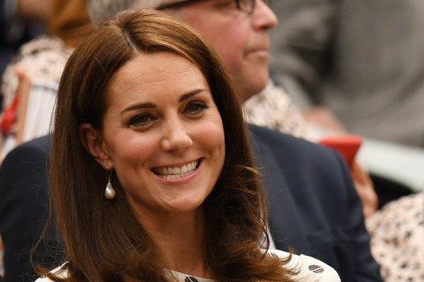 La Duchesse de Cambridge au tournoi de Wimbledon le 14 juillet 2018