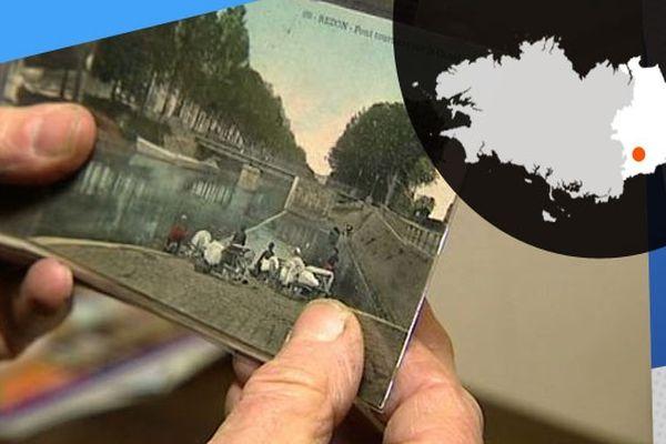 Les cartes postales de Redon dont certaines datent du XIXème siècle donnent des indices sur l'histoire de la ville
