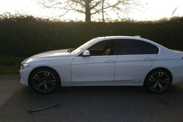 La BMW du conducteur a été saisie par les gendarmes.