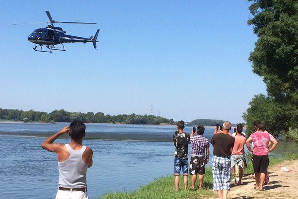 L'hélicoptère de la gendarmerie a retrouvé, ce lundi matin 9 juillet, le corps d'un des deux somaliens disparus en Loire.
