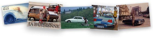 L'exposition « L'Automobile et la Mode » en partenariat avec l'INA, à découvrir au Pavillon 8.