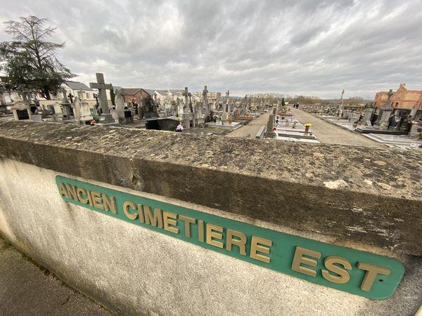 L'ancien cimetière Est de Yutz (Moselle)